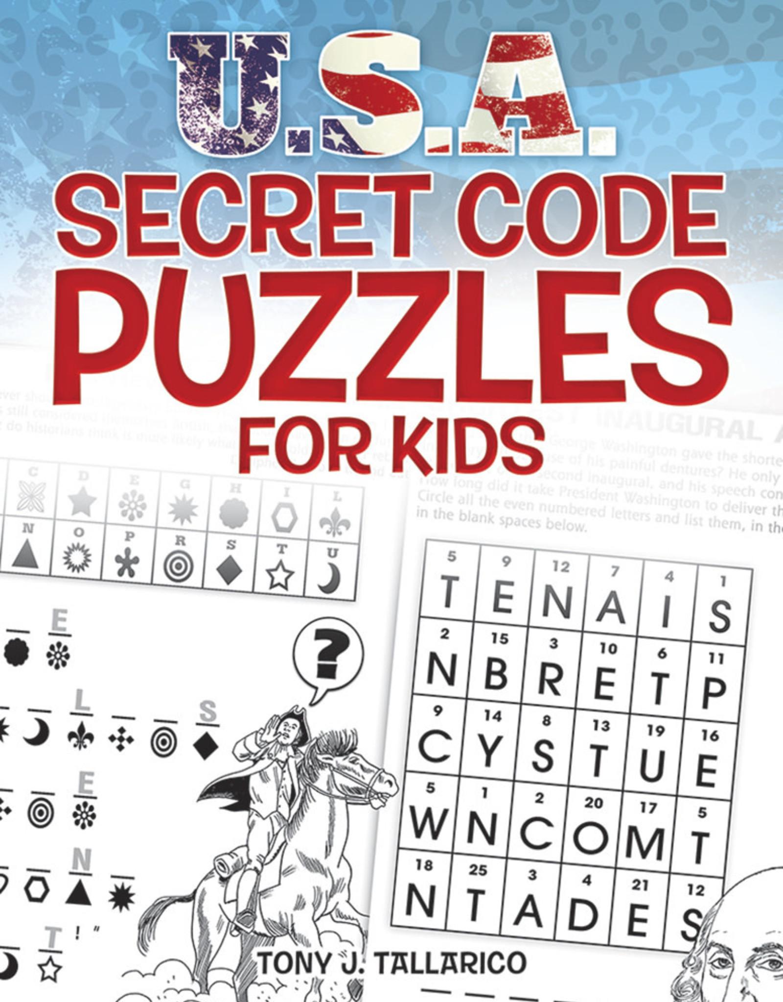 Dover Activity Book USA Secret Code