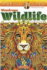 Dover Coloring Book CH Wondrous Wildlife