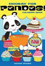 Dover Coloring Book Hooray for Pandas