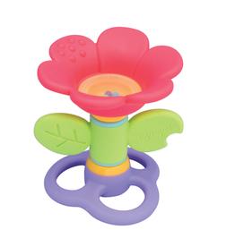 ToyLab Baby Spinning Flower Teether