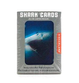 Kikkerland Playing Cards Shark 3D