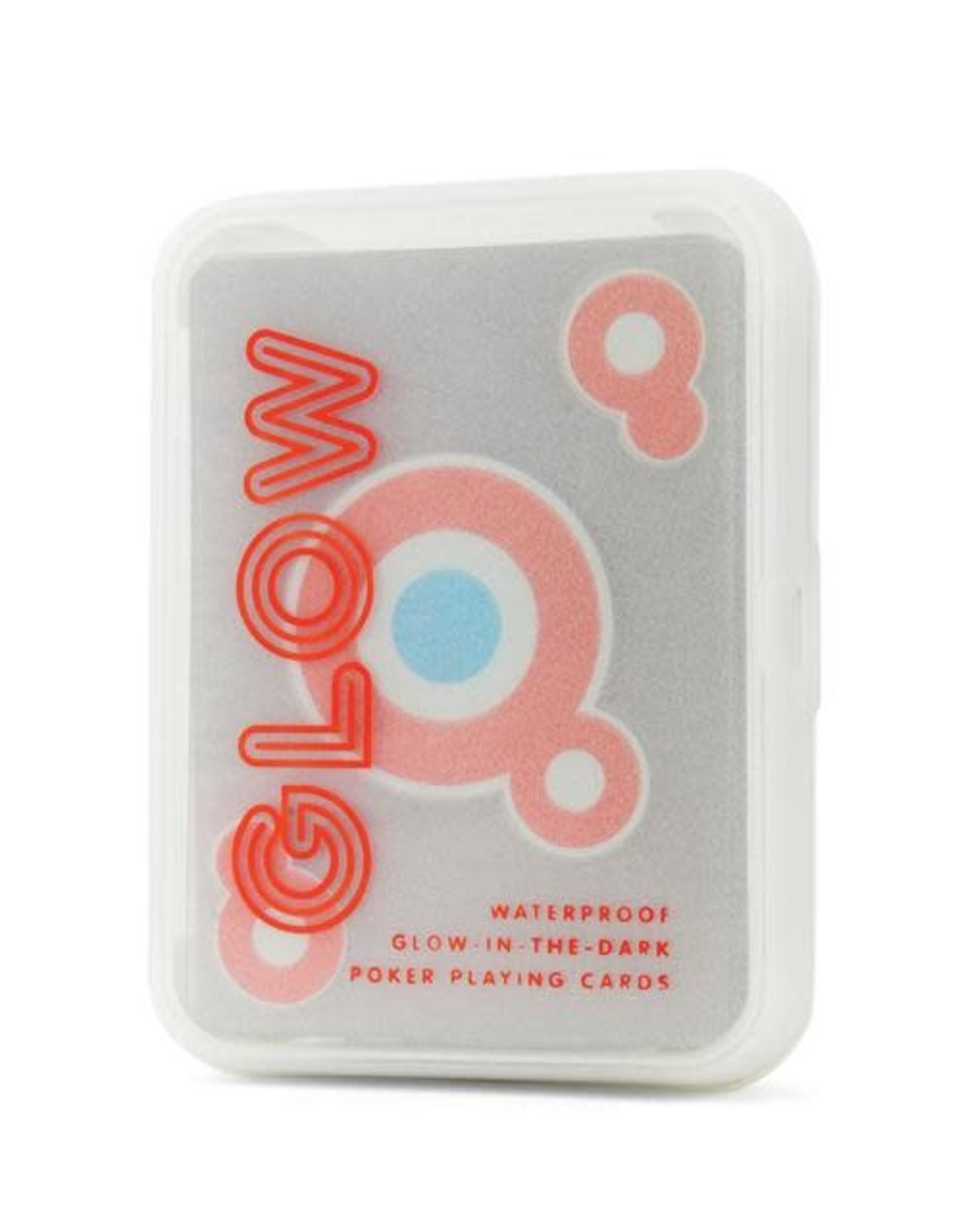 Kikkerland Playing Cards Glow in the Dark
