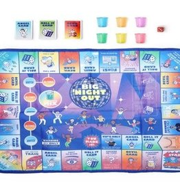 Kikkerland Big Night Out Party Game
