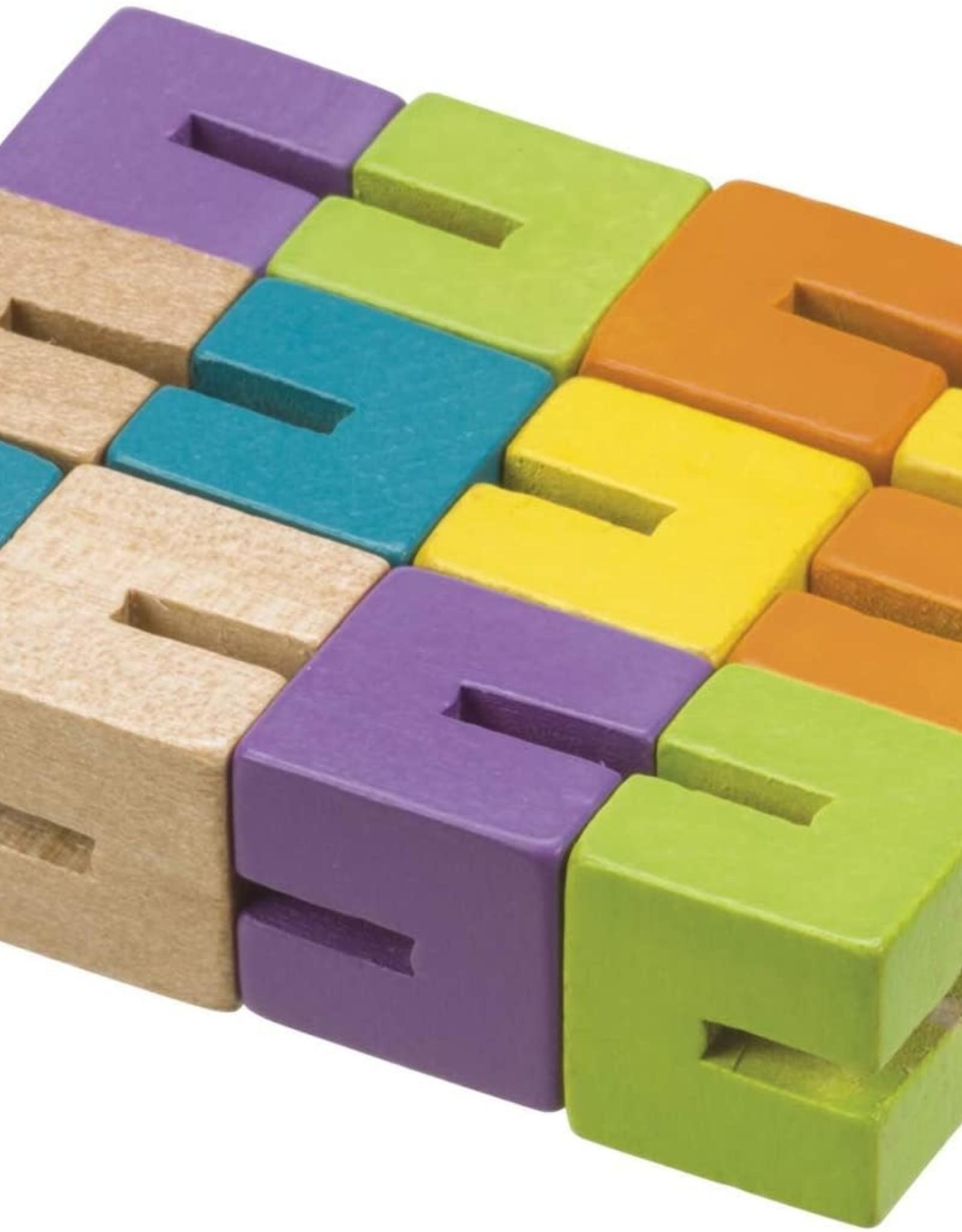 Toysmith Wood Fidget Puzzle
