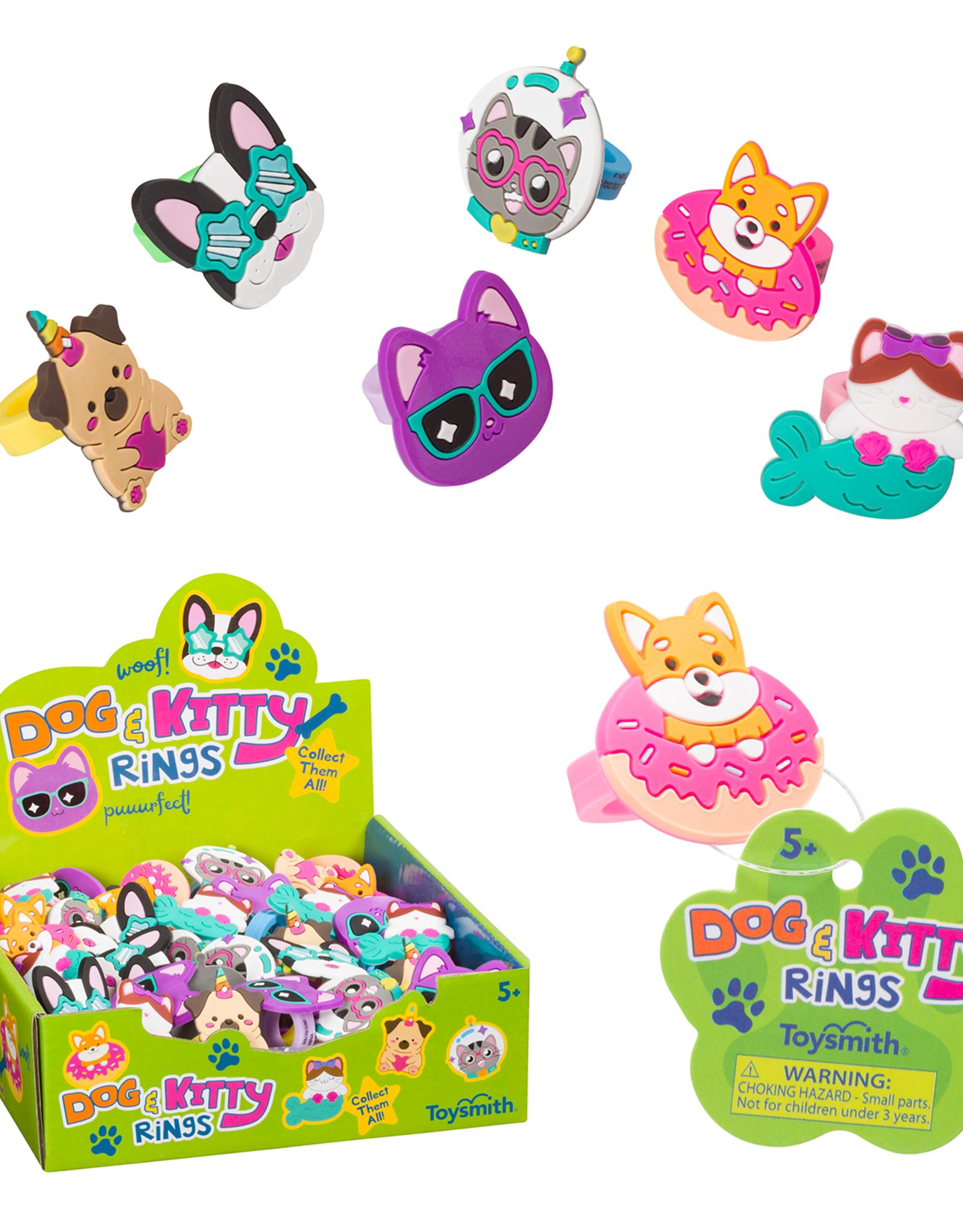 Toysmith 1 Dog and Kitty Rings