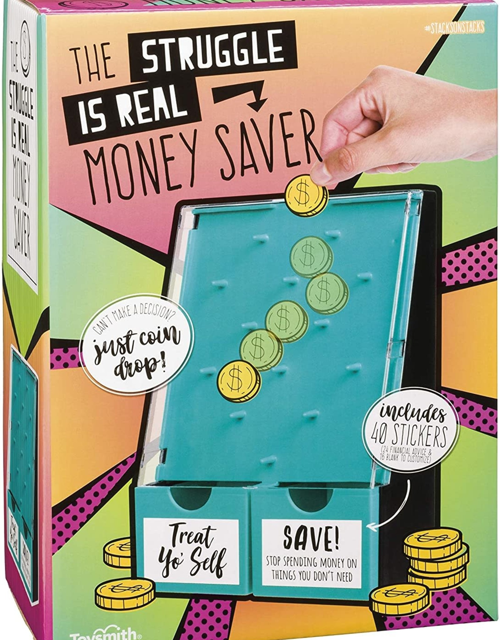 Toysmith Money Saver The Struggle is Real