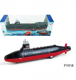 Hayes Specialties Die Cast Submarine Black