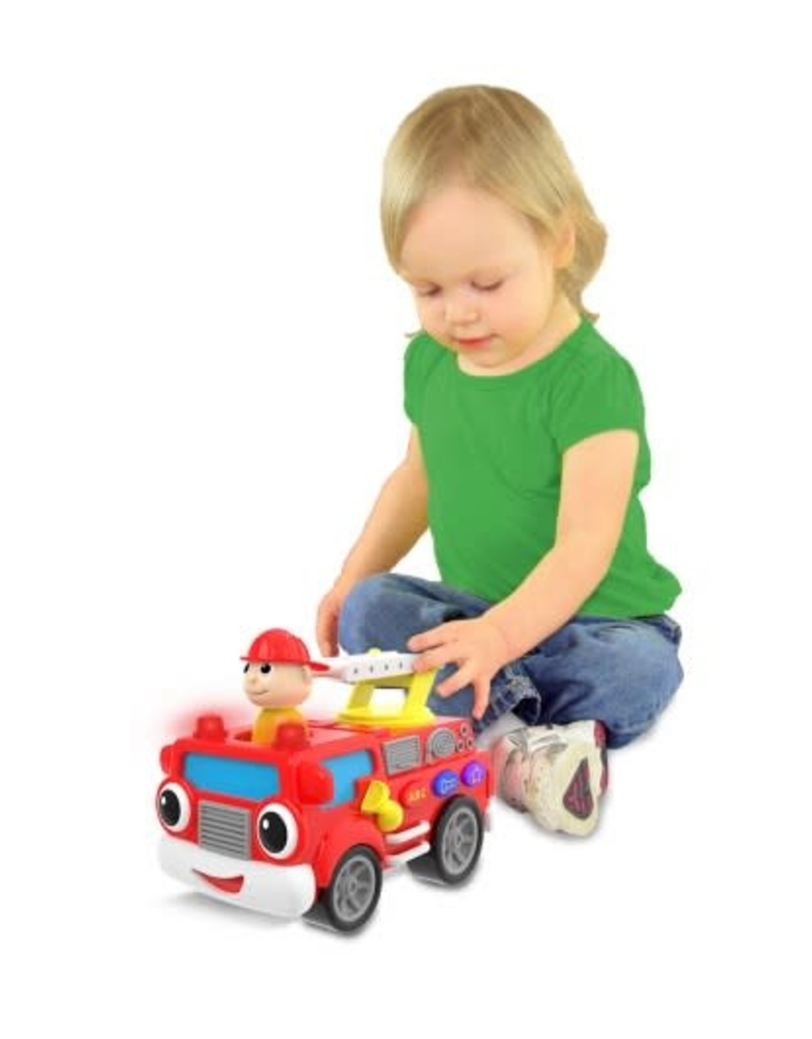 The Learning Journey On the Go Fire Truck Electronic Baby Toy