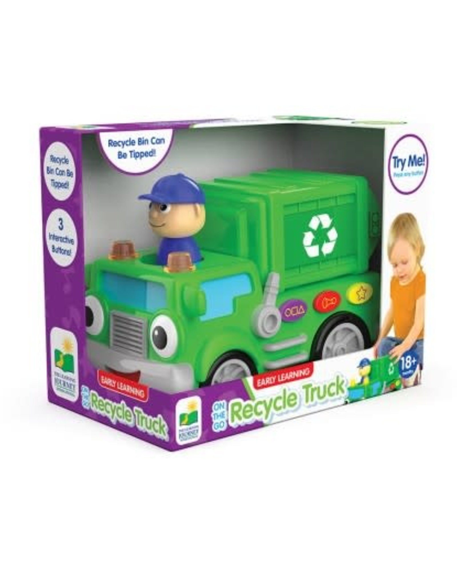 The Learning Journey On the Go Recycle Truck Electronic Baby Toy