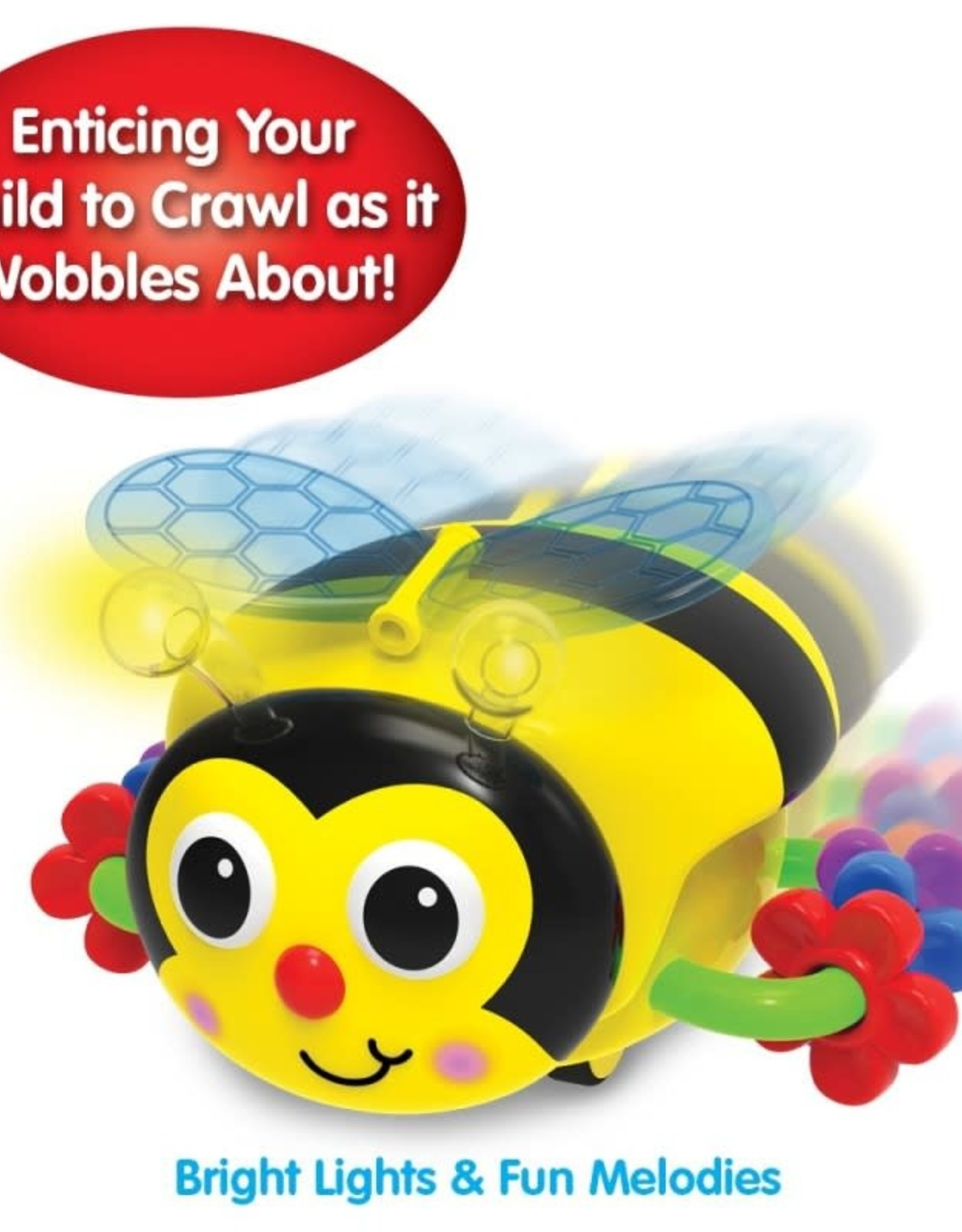The Learning Journey Crawl About Bee Electronic Baby Toy