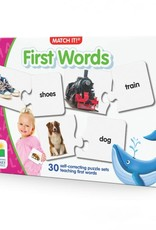 The Learning Journey Match It! First Words
