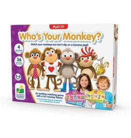 The Learning Journey Who's Your Monkey Game