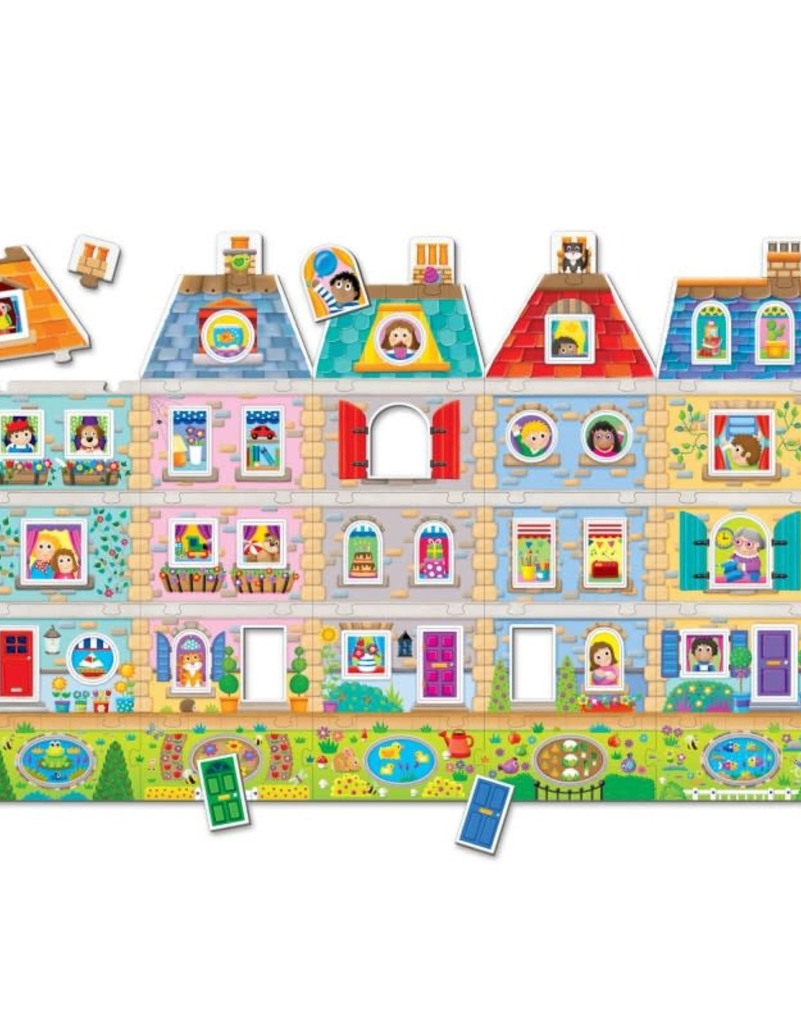 The Learning Journey Floor Puzzle Create a Scene Neighborhood
