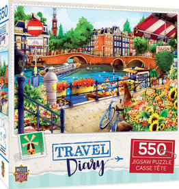 Master Pieces 550pc Travel Diary Amsterdam