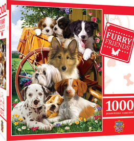 Master Pieces 1000pc Furry Friends Ready for Work