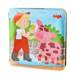Haba Bath Book Farm Animal