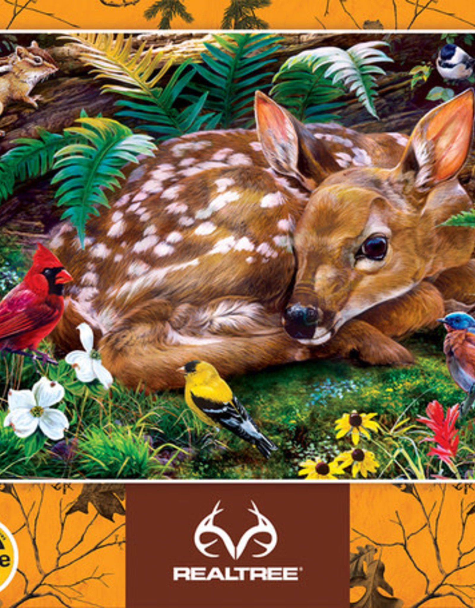 Master Pieces 100pc RealTree Forest Babies