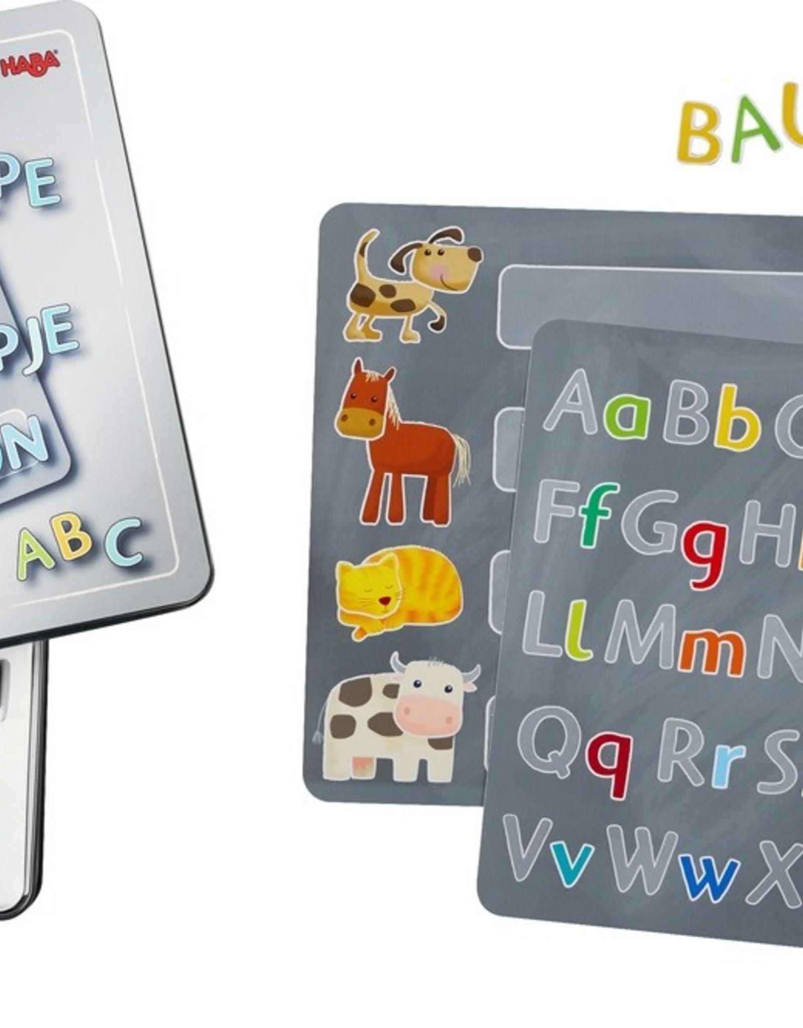 Haba Magnetic Tin Alphabet