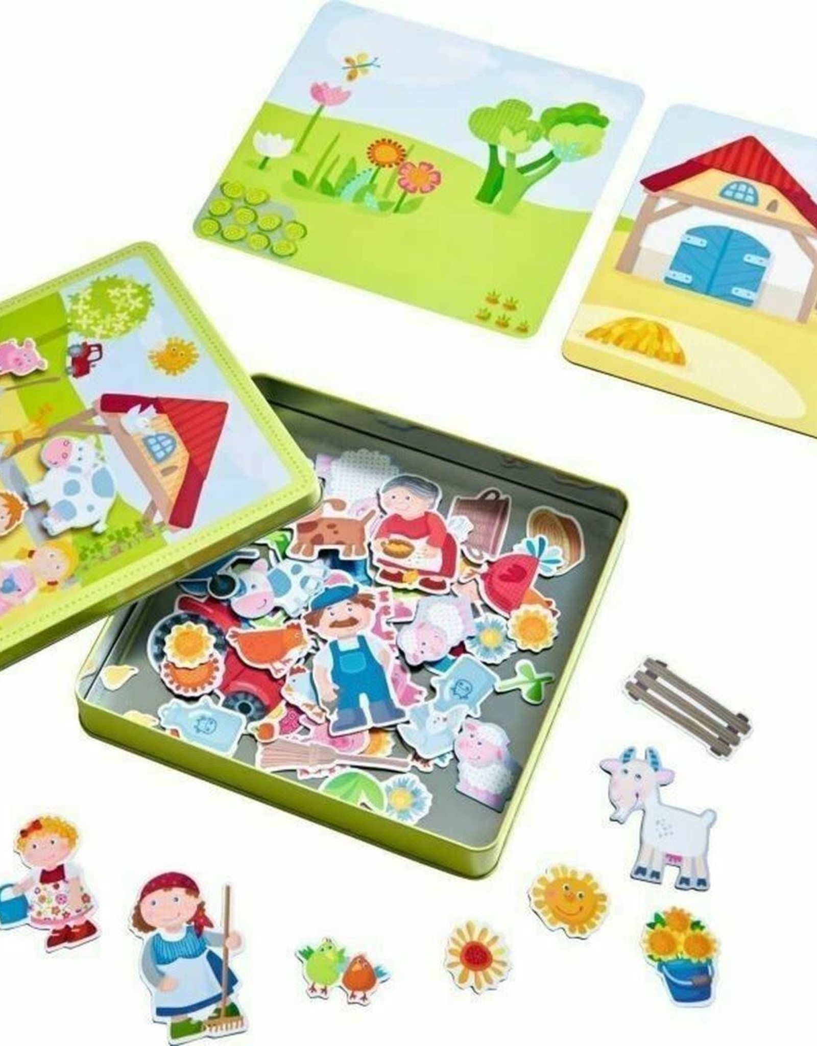 Haba Magnetic Tin Peter and Pauline's Farm