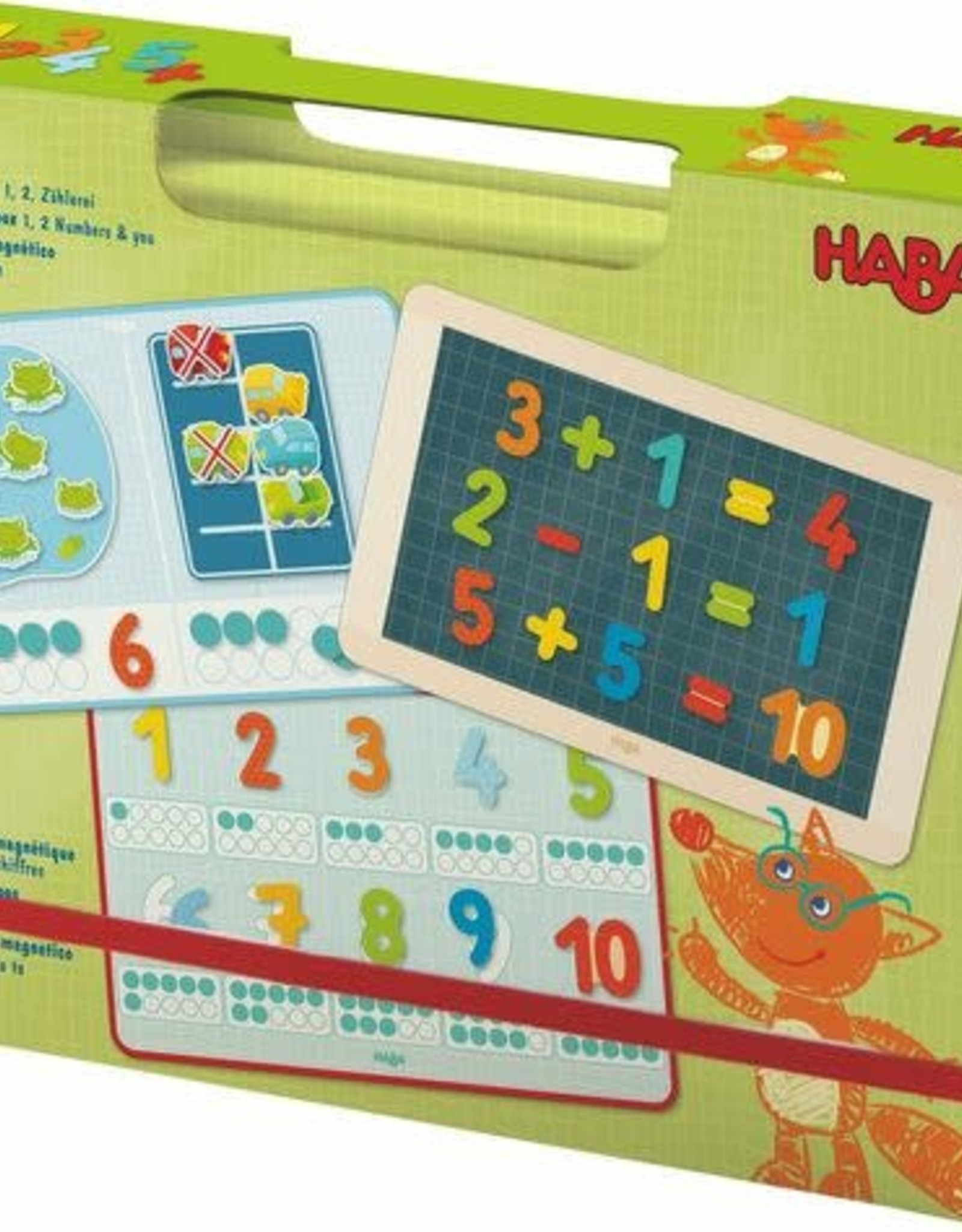 Haba Magnetic Game Box 1, 2, Numbers and You