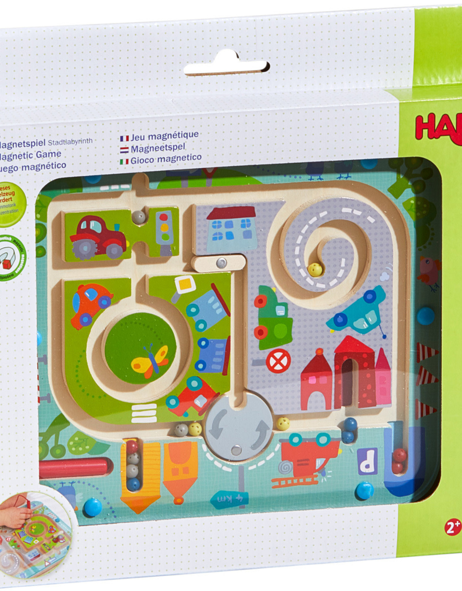 Haba Magnetic Town Maze
