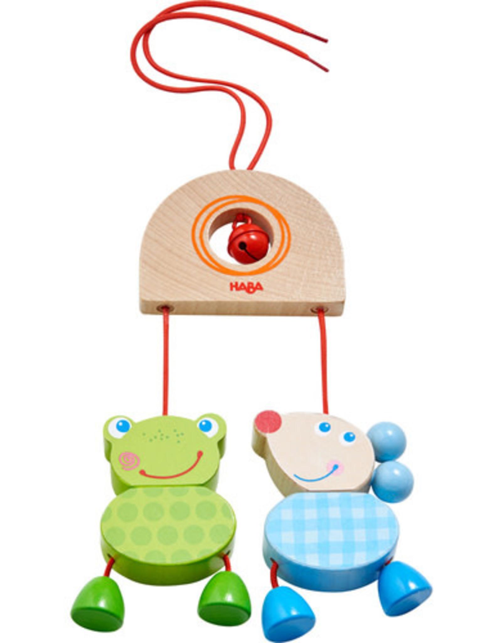Haba Mouse Frog Duo Dangling Figure