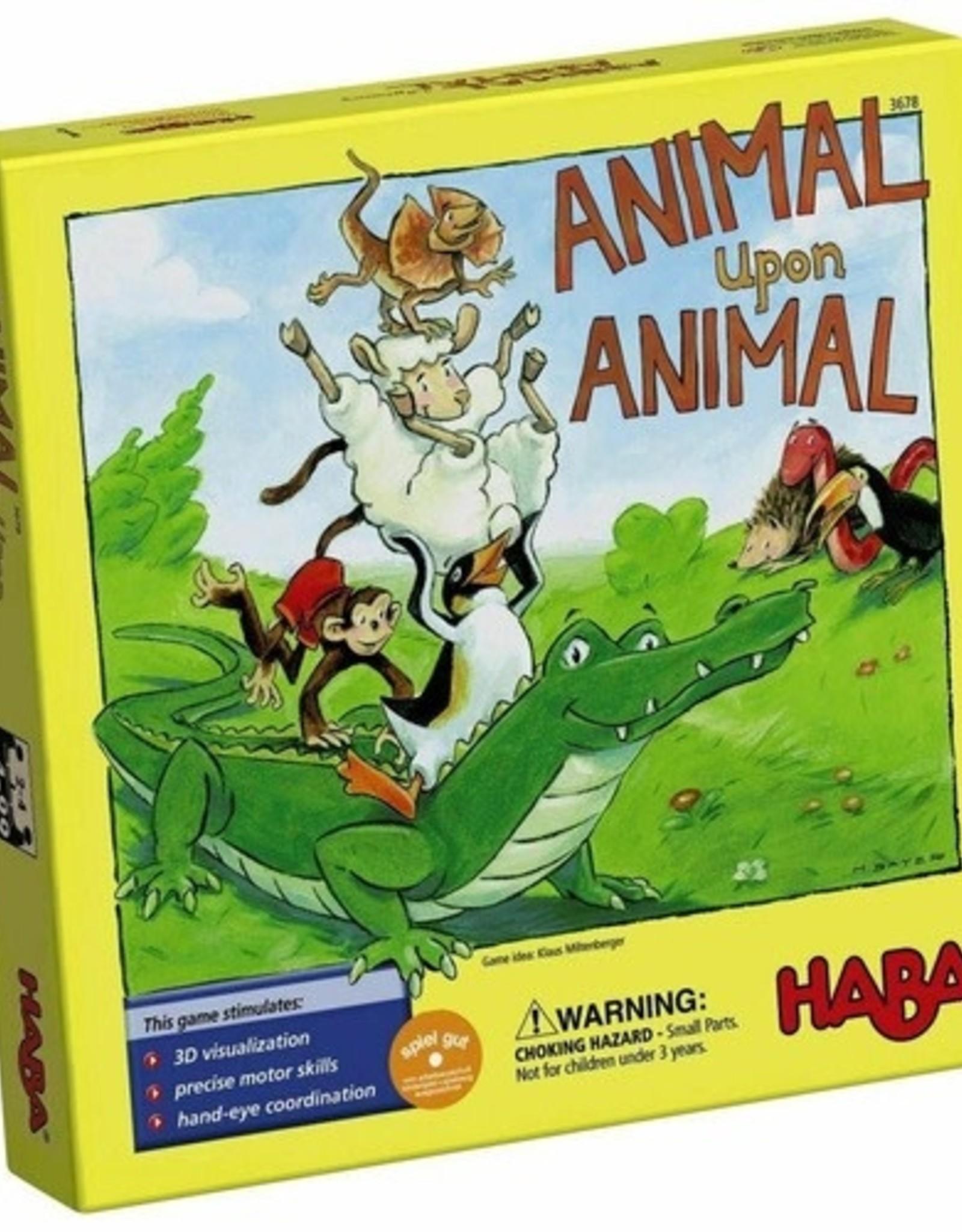 Haba Animal Upon Animal Game Original 4+