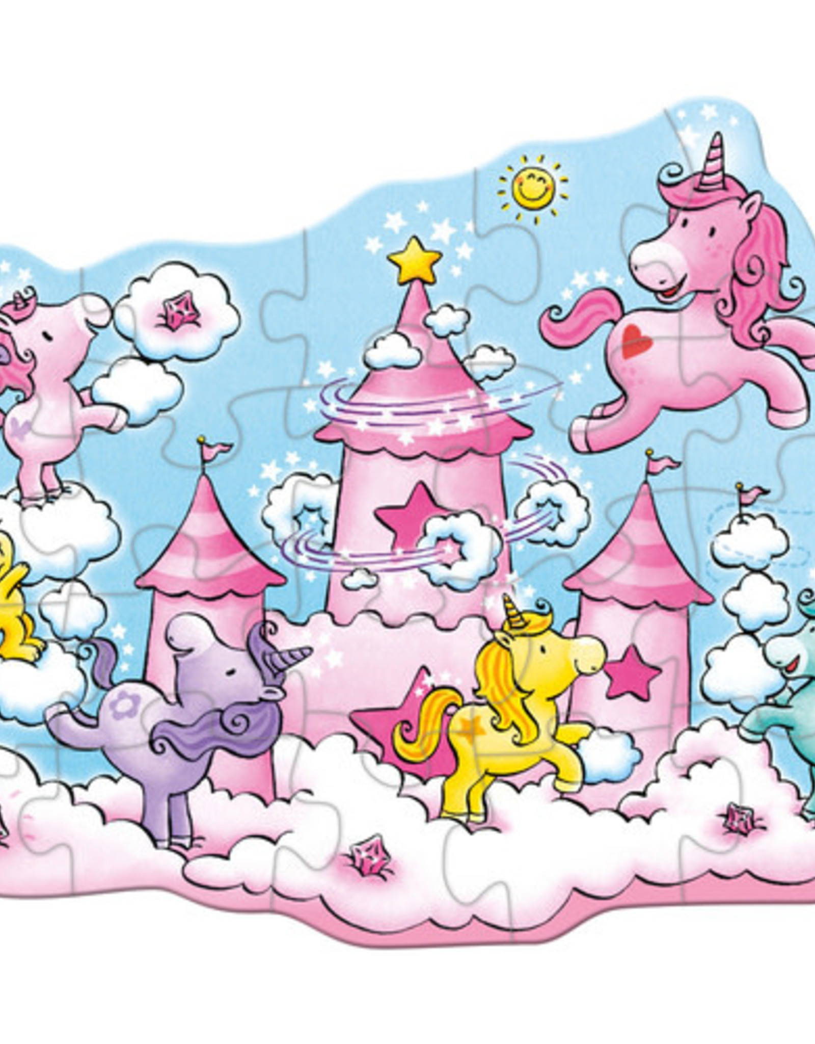Haba 20pc Unicorn In The Clouds