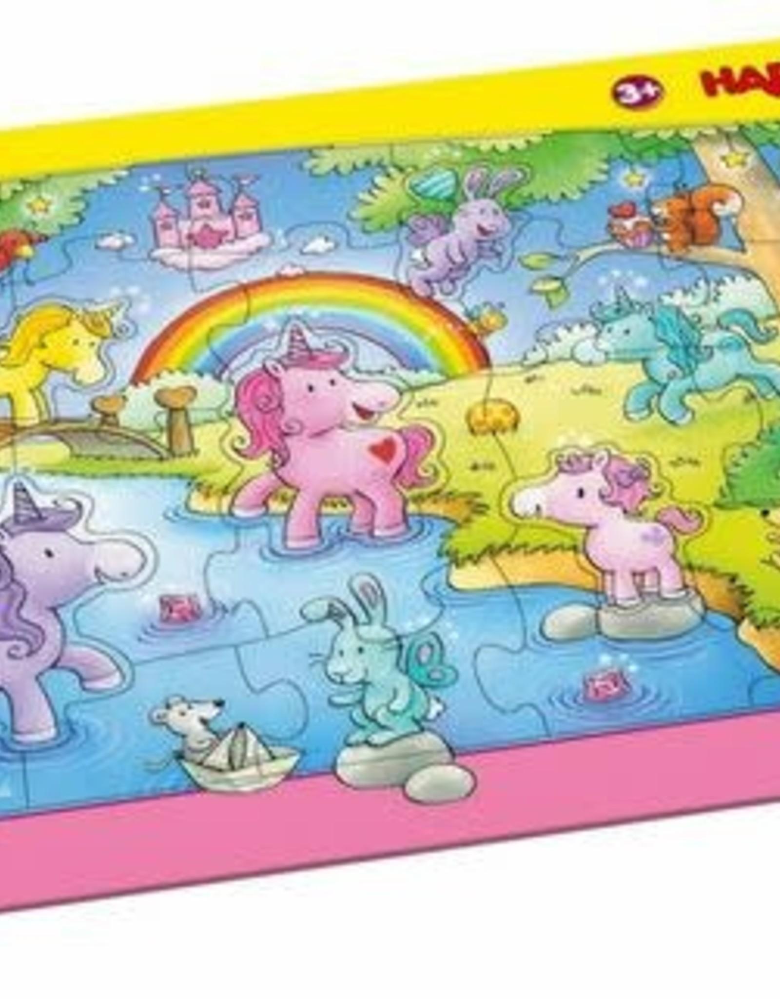 Haba 25pc Unicorn Frame Puzzle