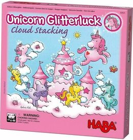 Haba Unicorn Cloud Stacking Game 4+