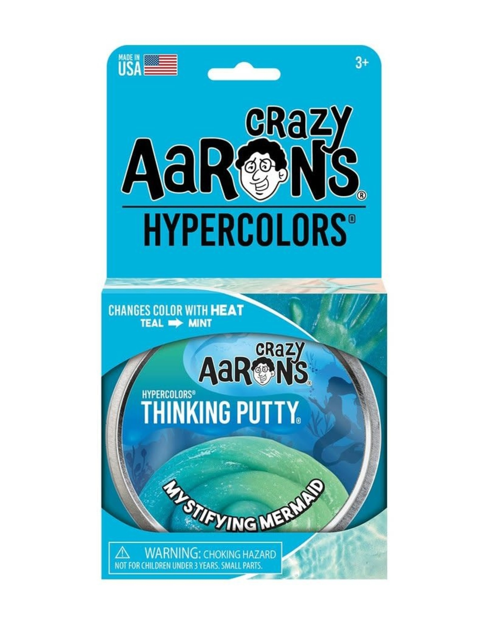 Crazy Aarons Putty Hypercolor Mystifying Mermaid
