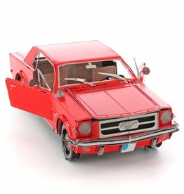 Metal Earth ME Ford Mustang 1965 Red