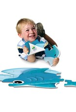 The Learning Journey 12pc Floor Puzzle My First Silly Shark
