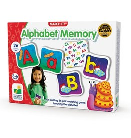 The Learning Journey Match It! Memory - Alphabet