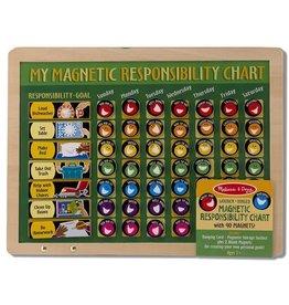 Melissa & Doug My Magnetic Responsibility Chart Chores