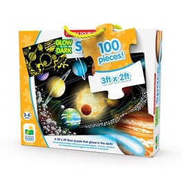 The Learning Journey Puzzle Doubles - Glow In The Dark - Space