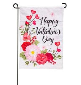 Evergreen EV GF Floral Shiplap Valentines