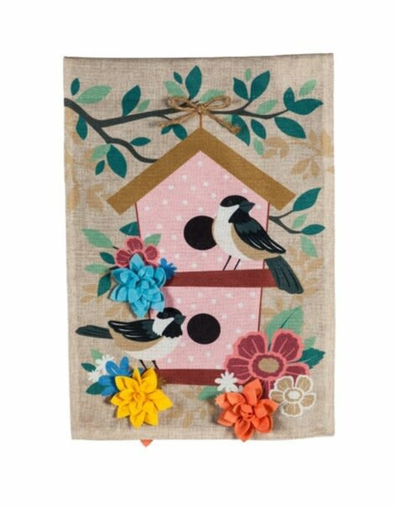 Evergreen EV GF Chickadee Dot Birdhouse