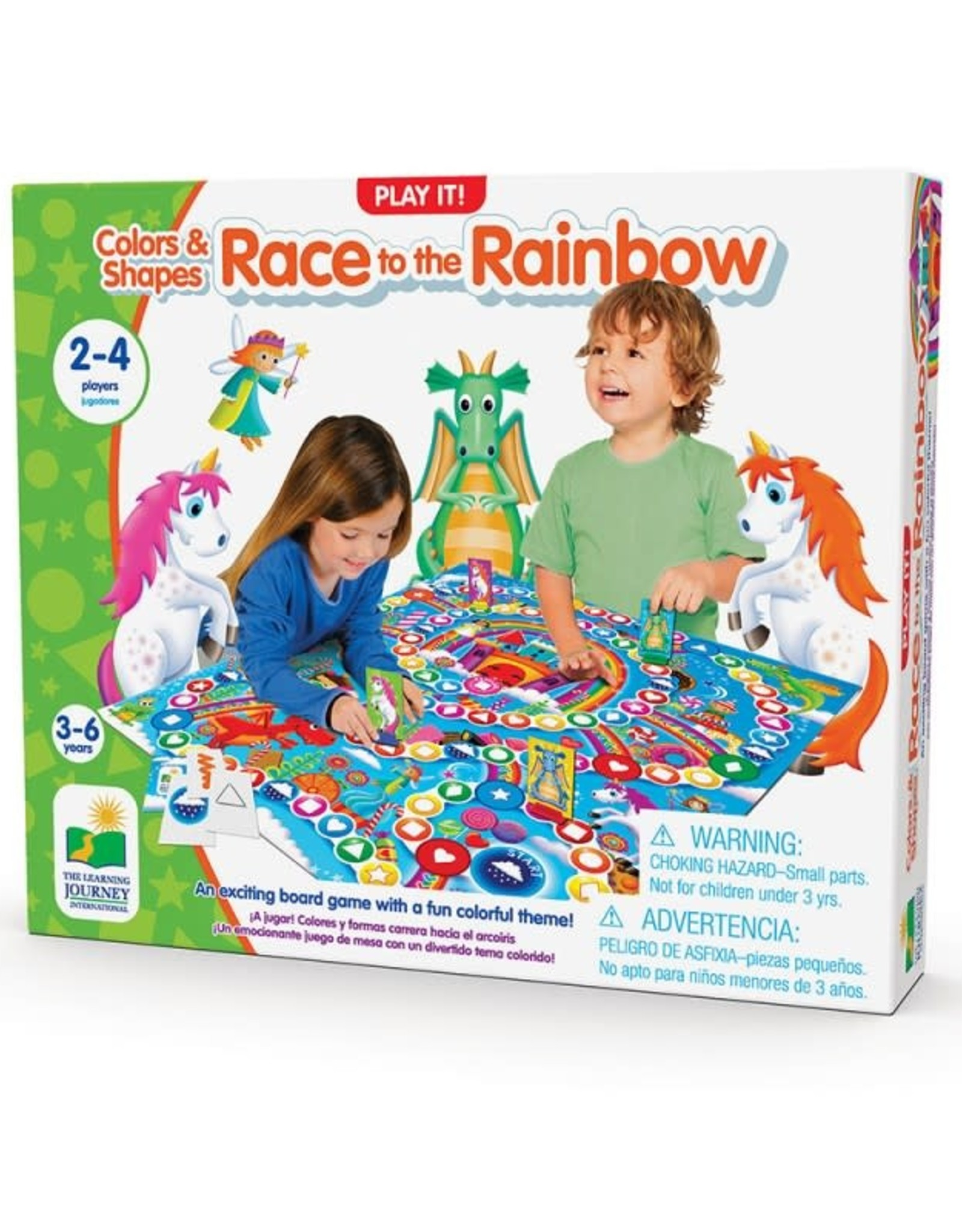 The Learning Journey Race to the Rainbow