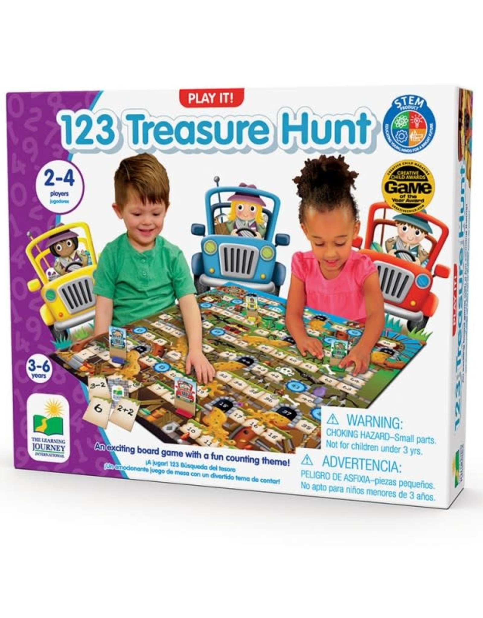 The Learning Journey Treasure Hunt 123