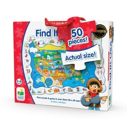 The Learning Journey Puzzle Doubles - Find It USA