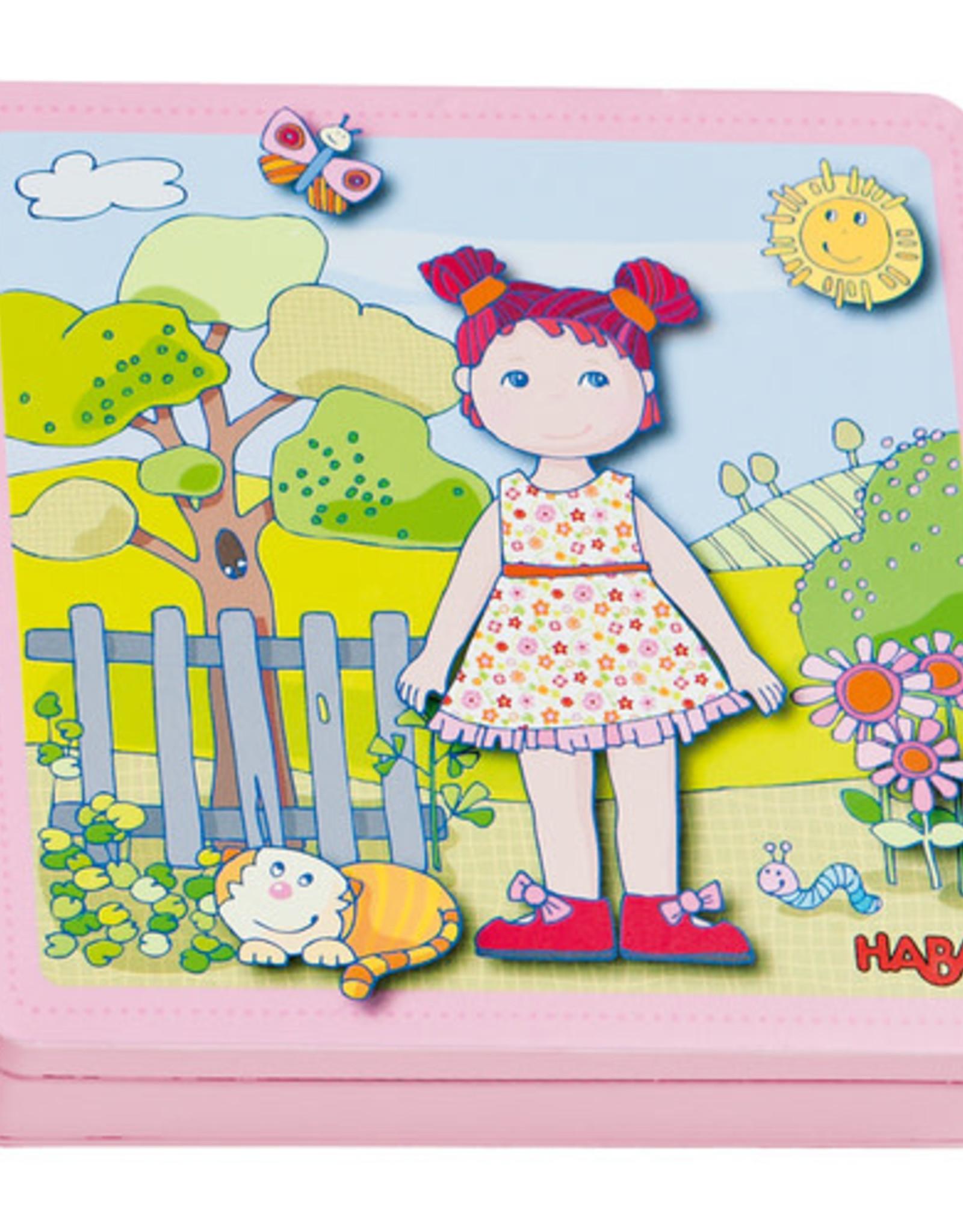 Haba Magnetic Tin Dress up Doll Lilli