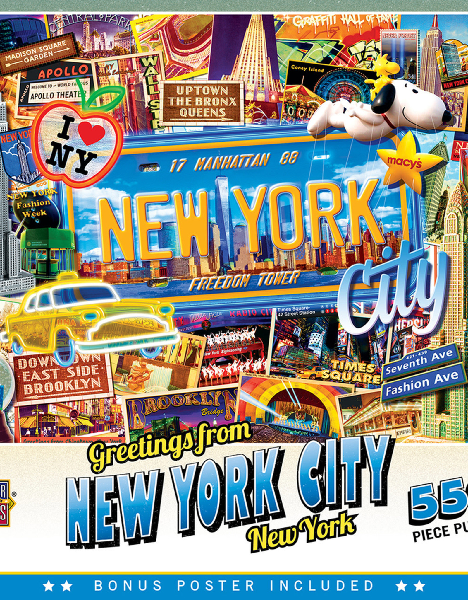 Master Pieces 550pc Greetings From New York City