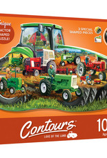 Master Pieces 1000pc Shaped Love of the Land Tractor