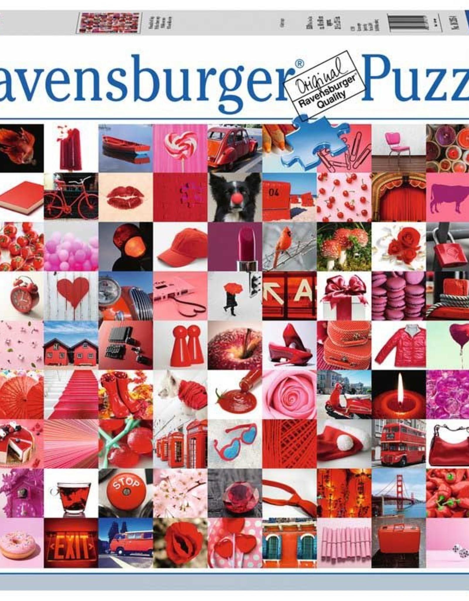 Ravensburger 1500pc 99 Beautiful Red Things