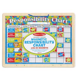 Melissa & Doug MD Magnetic Responsibility Chart