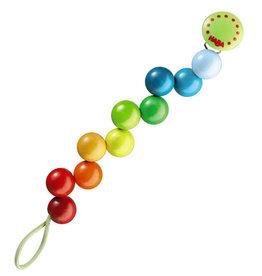Haba Pacifier Chain Rainbow Pearls
