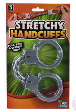 """The Toy Network Handcuffs 10.5"""" Stretchy Elastic"""