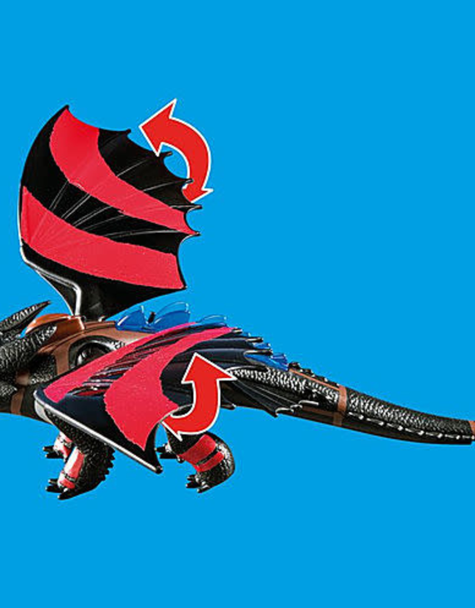 Playmobil PM Dragon Racing: Hiccup and Toothless
