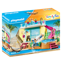 Playmobil PM Bungalow with Pool